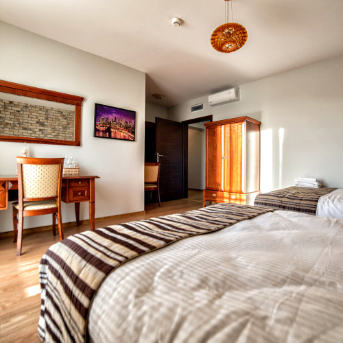 Pokój o podwyższonym standardzie w Hotelu Pan Tadeusz, Bydgoszcz.